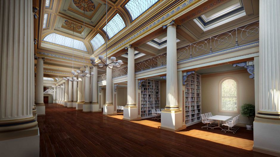 QUEEN'S HALL MAKEOVER