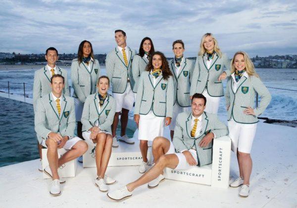 AOC Olympic uniform shoot