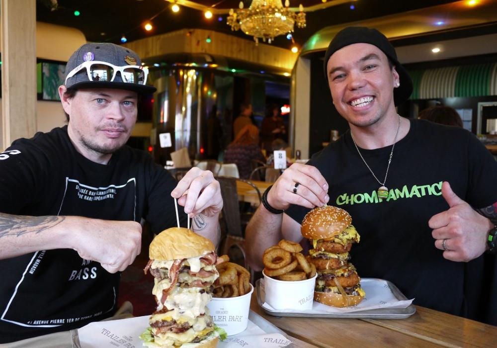 Getting a taste for competitive eating